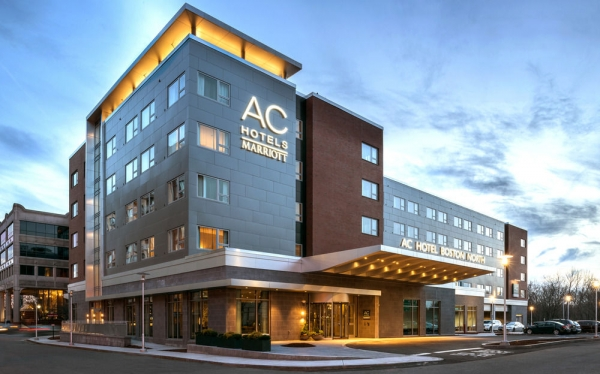 Architectural Metal New Jersey - Exterior Cladding - CEI Composite Materials - AC_Hotel