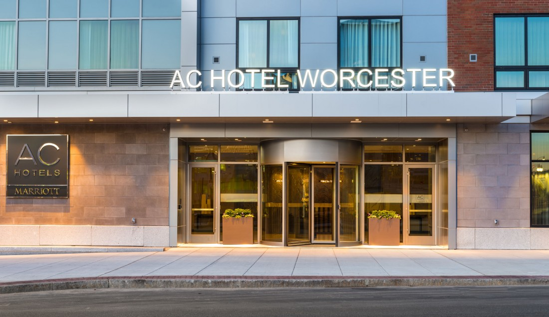 AC Hotel, Marriott, Worcester, MA, PROCON, CEI Materials, AC Hotel Worcester JS Photography