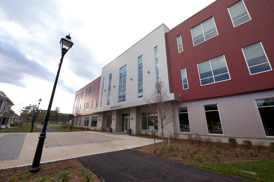 Crowe Hall, Merrimack College, North Andover, MA, PROCON Inc, CEI Materials W5000