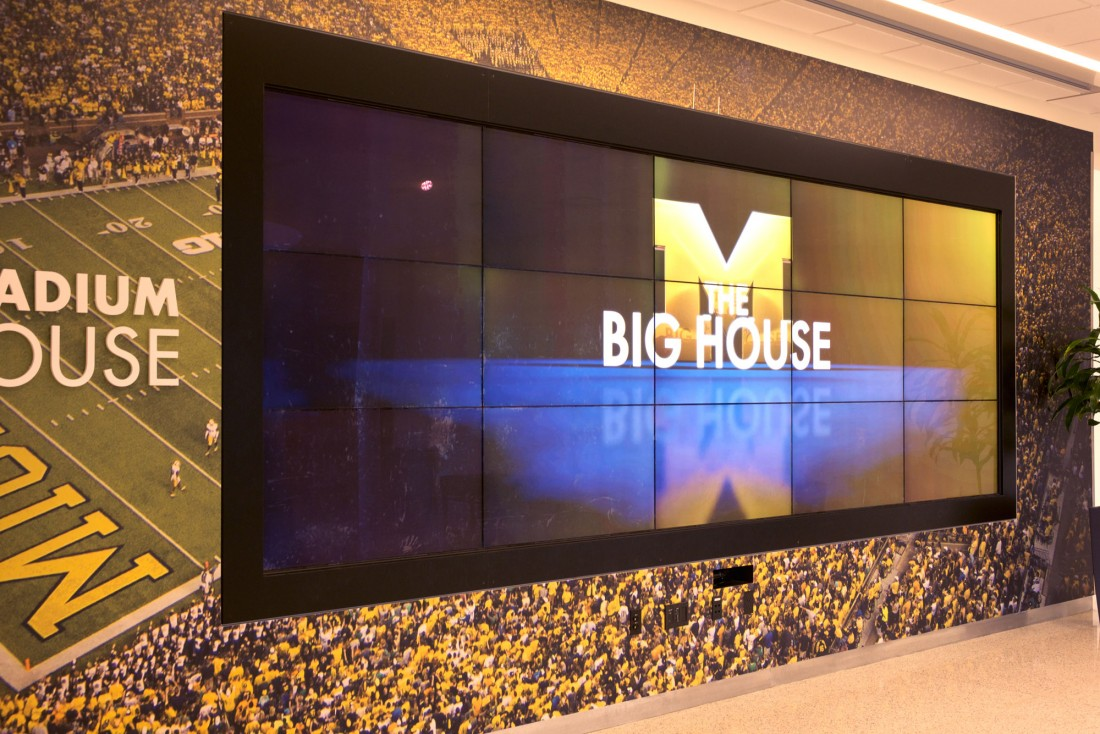 Schembechler Hall University of Michigan, Integrated Architecture, JS Vig Construction, CEI Materials W5000