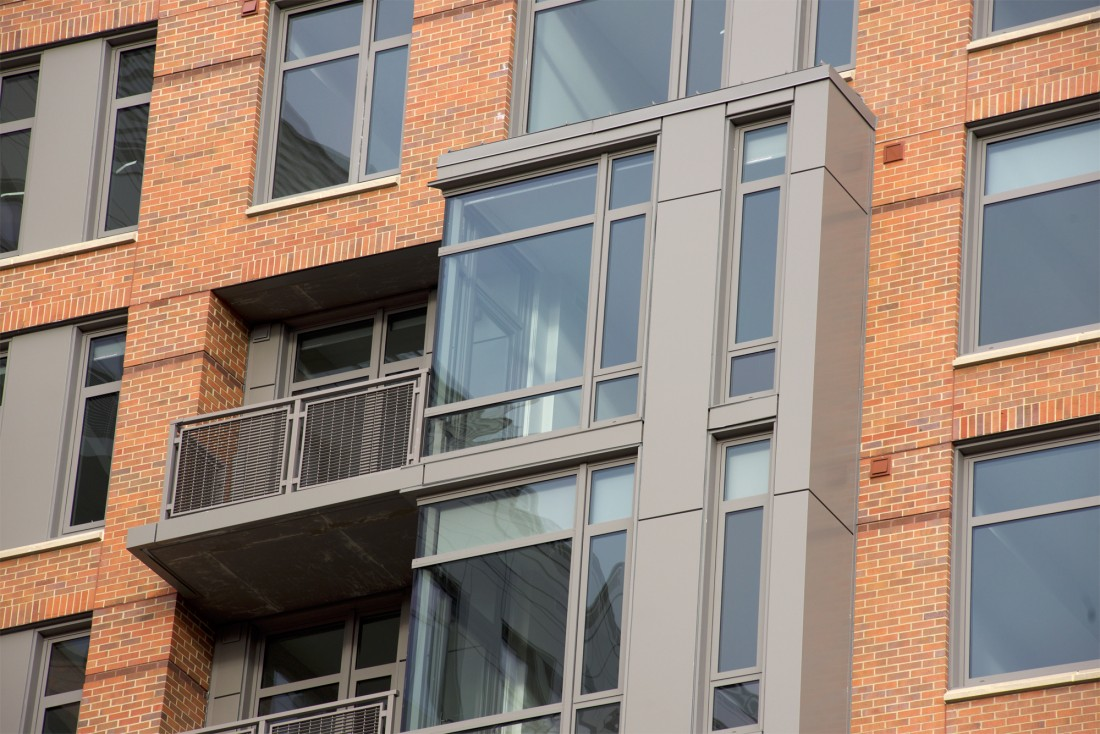 Chevy Chase Lake Apartments, The Lindley, Design Collective, Advanced Architectural Metals, CEI Materials R4000