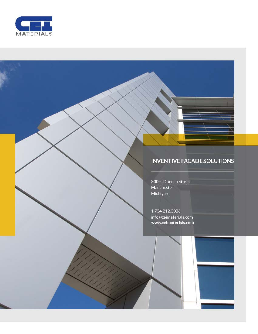 Product Brochures: Architectural Composites | CEI Materials - Brochure2