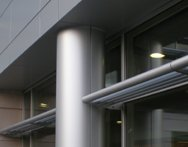Metal Column Wraps & Covers Michigan - Architectural Products | CEI Composite Materials - Column_Coverx