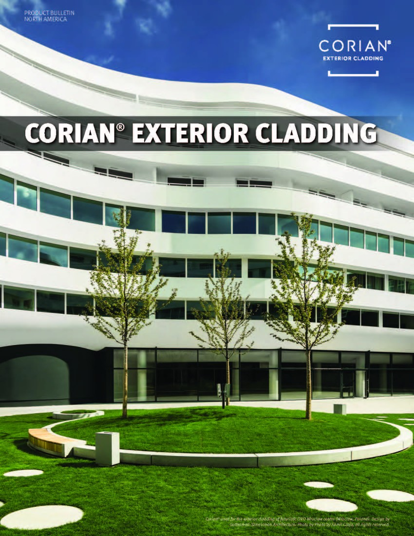 Product Brochures: Architectural Composites | CEI Materials - CorianExteriorCladding_Pic