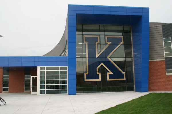 Aluminum Composite Fabricator Wisconsin - CEI Composite Materials - Kearney_High_School