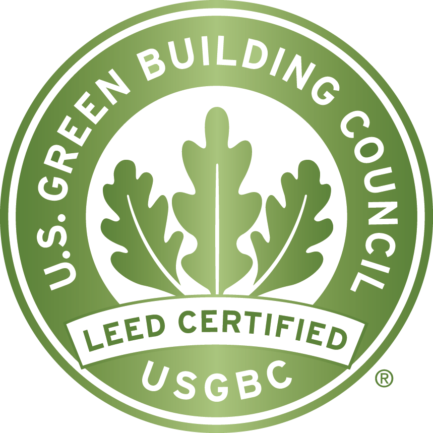 Aluminum Composite Materials North Dakota - Exterior Cladding - CEI Materials - LEED-Certification-Logo