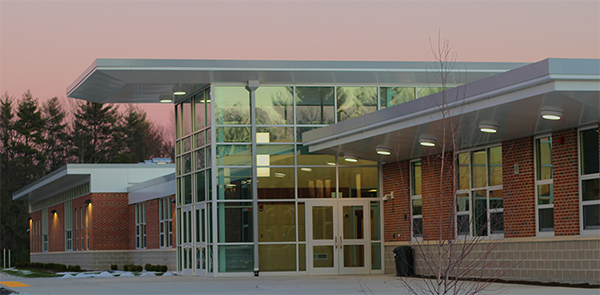 Aluminum Composite Fabricator Boston MA - CEI Composite Materials - Southwick_Regional_School