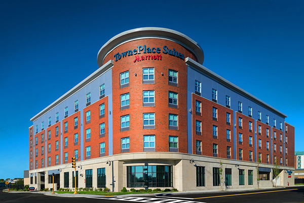 Aluminum Composite Fabricator Washington DC - CEI Composite Materials - TownePlace_Suites