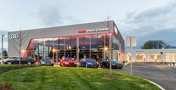 Aluminum Composite Fabricator Seattle WA - CEI Materials - West_Chester_Audi