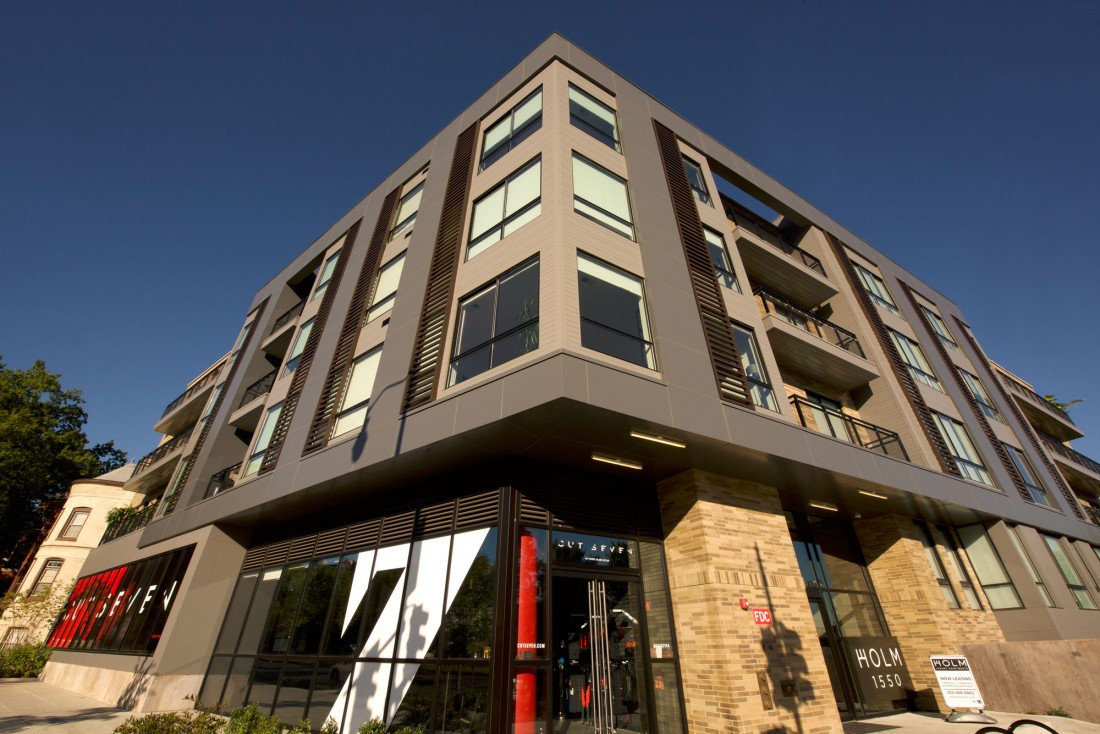 1101 Rhode Island, Ave, Holm, Washington, DC, Hickok Cole Architects, Advanced Architectural Metals, CEI Materials W5000