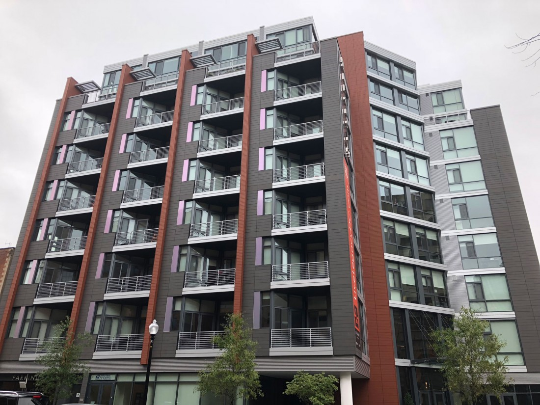 Legacy West End Apartments, DC, MTFA Architecture, HITT Contracting, CEI Materials R4000