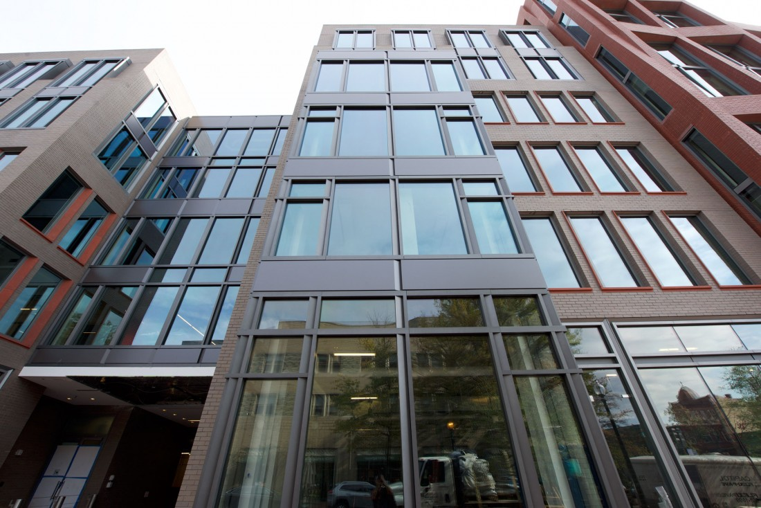 Downtown DC Office Building Features Custom Metal Components