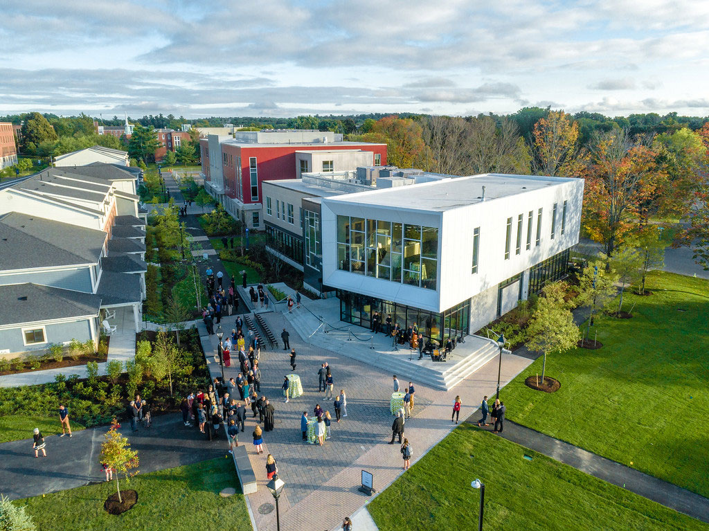 Arcidi Center, Merrimack College, PROCON, CEI Materials W5000, Photograph Merrimack College