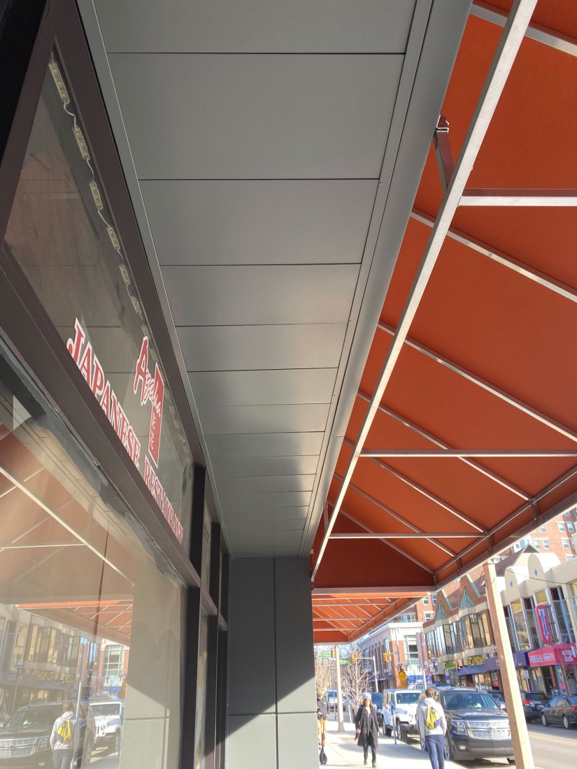 CLADLOK Modular Panel System, Retail, Restaurant, Shopping Center, South University Street, Ann Arbor