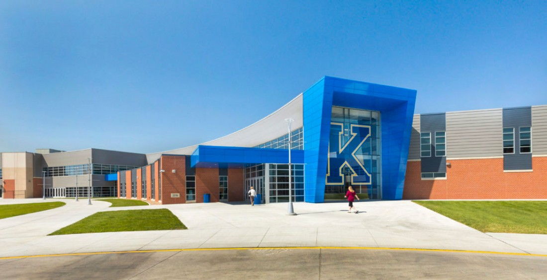 Kearney High School, Nebraska, Wilkins ADP, SGH Inc, CEI Materials, Photography Wilkins