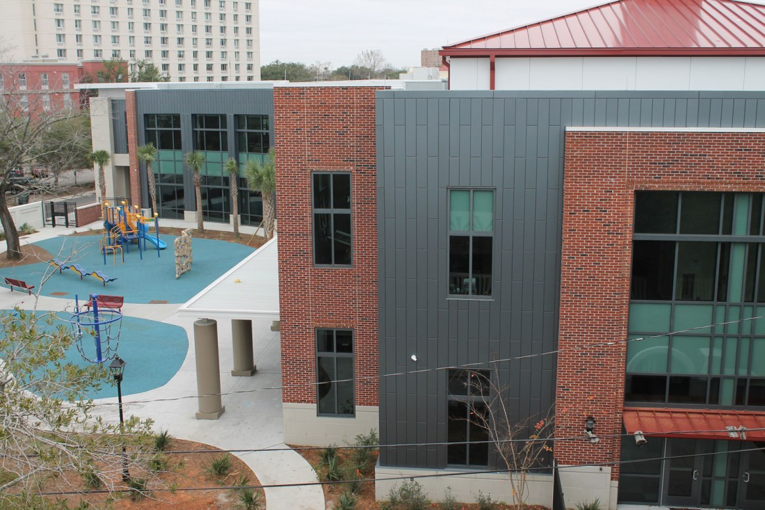 Memminger Elementary School, LS3P Associates, HITT Contracting, Charleston, CEI Materials R4000 MCM