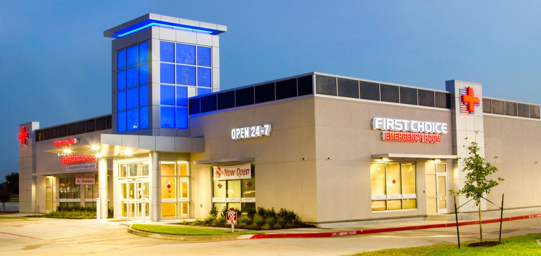 Ascension Group Architects, First Choice ER, Houston, Texas