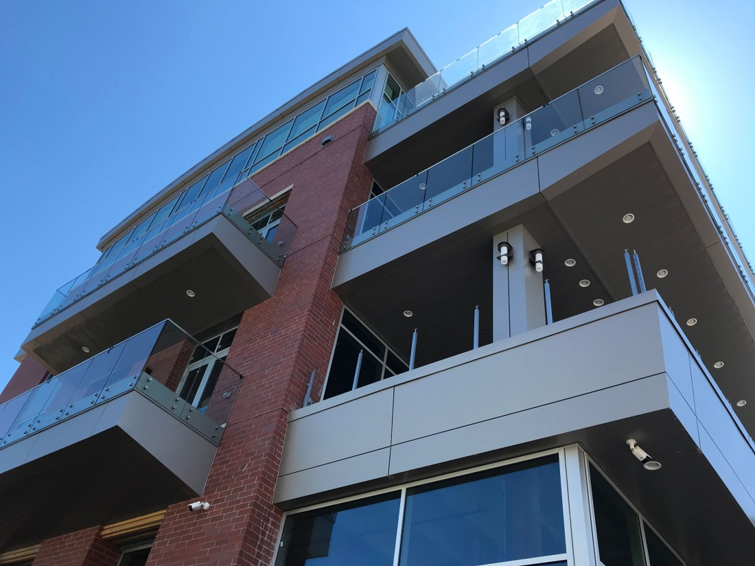 The Enclave Riverfront Living, Hafer Design, Owensboro, KY, Jack Wells, CEI Materials, Aluminum Composite Material