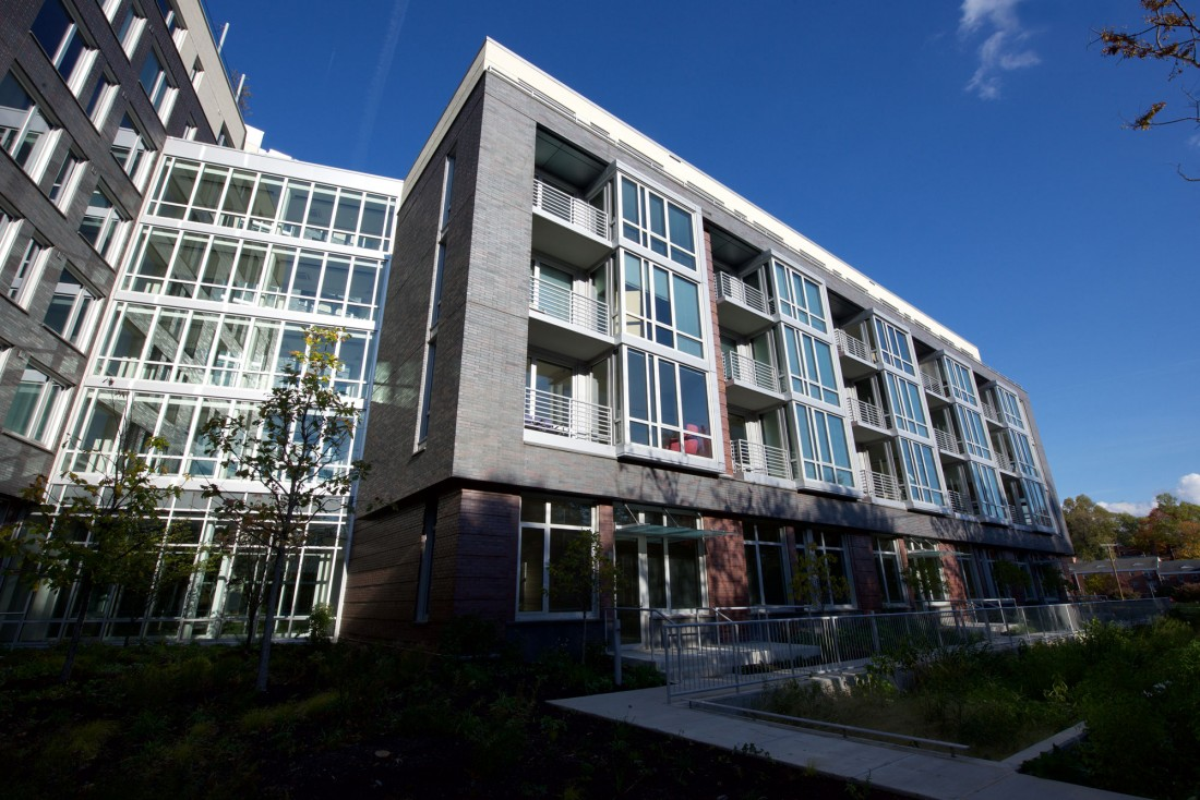 The Blairs, The Pearl, Silver Spring, MD, Design Collective, Clark Construction Group, CEI Materials R4000 Rainscreen