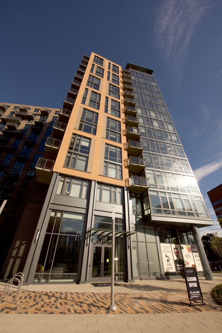 The Rixey, Arlington, VA, SKI Architecture, Clark Construction, Dinamic Erectors, CEI Materials R4000
